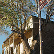 Chevron Station Ghost Town Gleeson Arizona 1972 Poster