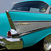 Chevy 1957 Bel Air Poster