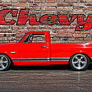 Chevy C10 Pickup Poster
