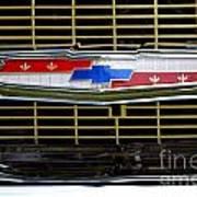 Chevy Emblem Poster