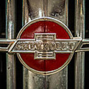 Chevy Emblem Poster by Paul Freidlund