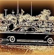 Chevy Glow Poster by Bobbee Rickard