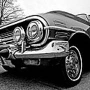 Chevy Impala Close Up Poster