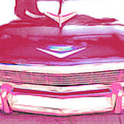 Chevy - Red Poster