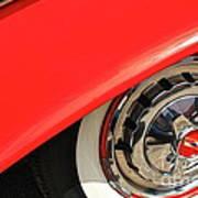 1955 Chevy Rim Poster