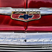 Chevy Truck Logo Vintage Poster