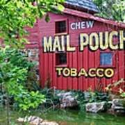Chew Mail Pouch Tobacco  Poster