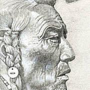 Cheyenne Medicine Man Poster
