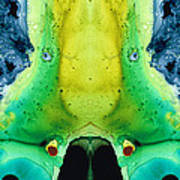 Chi Ant - Aka Mr Happy Bug By Sharon Cummings Poster