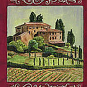 Chianti And Friends Collage 1 Poster by Debbie DeWitt