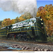 Chicago And North Western Class E-4 Poster