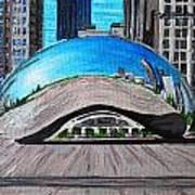 Chicago Bean Poster