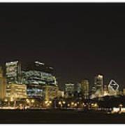 Chicago Bears-chicago Skyline Poster