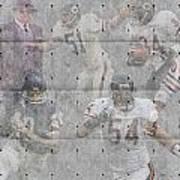 Chicago Bears Legends Poster