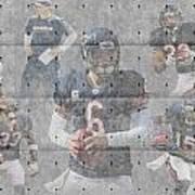 Chicago Bears Team Poster by Joe Hamilton