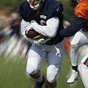 Chicago Bears Training Camp 2014 Moving The Ball 05 Poster