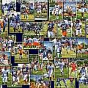 Chicago Bears Training Camp 2014 Pa 02 Poster