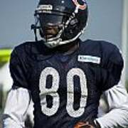 Chicago Bears Wr Armanti Edwards Training Camp 2014 01 Poster
