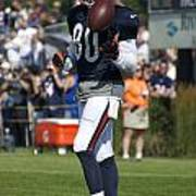 Chicago Bears Wr Armanti Edwards Training Camp 2014 02 Poster