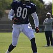 Chicago Bears Wr Armanti Edwards Training Camp 2014 03 Poster