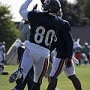 Chicago Bears Wr Armanti Edwards Training Camp 2014 04 Poster