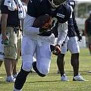 Chicago Bears Wr Armanti Edwards Training Camp 2014 05 Poster