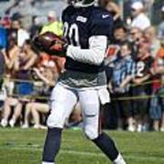 Chicago Bears Wr Armanti Edwards Training Camp 2014 07 Poster