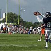 Chicago Bears Wr Armanti Edwards Training Camp 2014 08 Poster