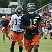 Chicago Bears Wr Brandon Marshall Training Camp 2014 06 Poster