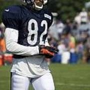 Chicago Bears Wr Chris Williams Training Camp 2014 05 Poster