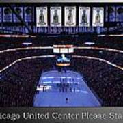 Chicago Blackhawks Please Stand Up With White Text Sb Poster