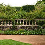 Chicago Botanic Garden Scene Poster