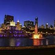 Chicago Buckingham Fountain Poster