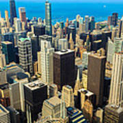 Chicago Cityscape Poster