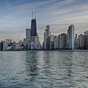 Chicago Coast Poster by Donald Schwartz