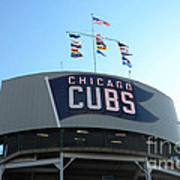 Chicago Cubs Signage Poster