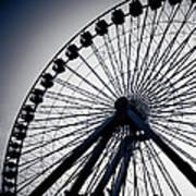 Chicago Navy Pier Ferris Wheel Poster
