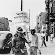 Chicago Protest, 1941 Poster
