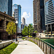 Chicago Riverwalk Picture Poster