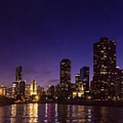 Chicago Skyline Vi Poster