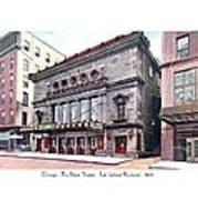 Chicago - The Illinois Theatre - East Jackson Boulevard - 1910 Poster