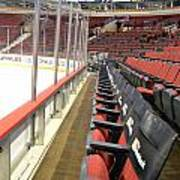 Chicago United Center Before The Gates Open Blackhawk Seat One Poster