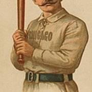 Chicago White Stockings 1887 Poster