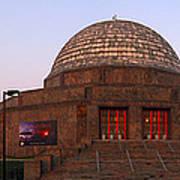 Chicago's Adler Planetarium Poster
