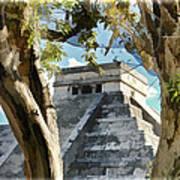 Chichen Itza - Yucatan Mexico Poster