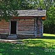 Chickamauga Cabin Poster