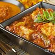 Chicken Jalfrezi Curry Poster by Colin and Linda McKie