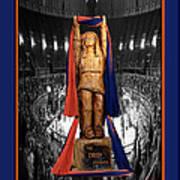 Chief Illiniwek University Of Illinois 04 Poster