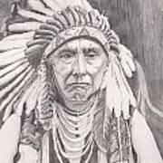 Chief Joseph Poster by Beverly Marshall