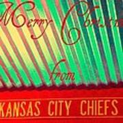 Chiefs Christmas Poster